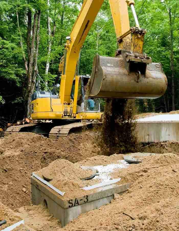 septic tank installer